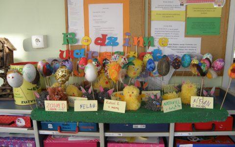 Rodzinne Warsztaty Plastyczne Jeżyków -Wielkanocne ozdoby